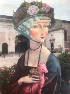 Giardini Roma Mostra Veronica Chessa
